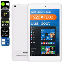 CUBE iWork8 Air Dual-OS Tablet PC - Licensed Windows 10 And Android 5.1, HDM