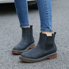 Women's Winter Ankle Boots Low Heels Martin Boots Autumn Winter Boots Shoes