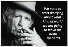 We Need To Start Worrying About... Keith Richards funny fridge magnet   (ep)