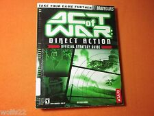 Act of War: Direct Action by Rick Barba and BradyGames Staff (2005, Paperback)