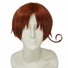APH Axis Powers Hetalia South North Italy Wig Feliciano Vargas Cosplay+ Free Wig
