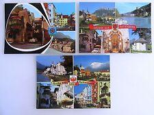 3x RATTENBERG Tirol Österreich Postkarten Lot ungelaufen ungebraucht color AK`s