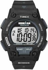 "Timex T5K196, Men's ""Ironman Triathlon"" 30-Lap Resin Watch, Shock, T5K1969J"