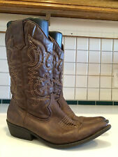 """Madden Girl Western Cowgirl 'Sanguine"""" Boots Size 7.5 M (Lot A)"""