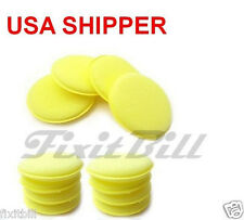 12 - Waxing Polish Foam Sponge Car Wax Applicator Pad Cleaning & Detailing Pads
