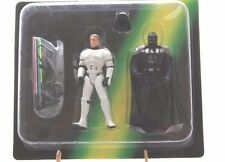 Star Wars Power Of The Force Luke & Vader From Escape The Death Star Game MOSC