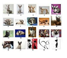 30 Personalized Return Address Labels Cats. Buy 3 get 1 free {cat1}