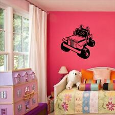 Huhome PVC Wall Stickers Wallpaper Jeep Grand children's room nursery bedroom be