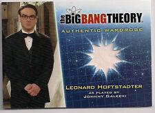 Big Bang Theory Season 5 Costume Card M27 V1 Leonard Hoftstadter