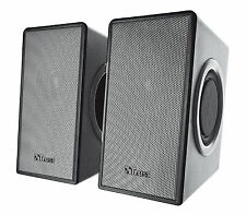 NEW TRUST 18279 ZOID 14W PEAK 7W RMS USB POWERED 2.0 COMPUTER LAPTOP SPEAKER SET