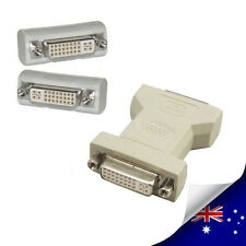 1 x DVI 24+5 Pin Female to DVI 24+5 Femal Adapter Converter - NEW (N003)