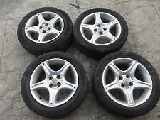 "MGF 1996-2002 Set of 4 x VVC 15"" alloys alloy wheels with tyres"
