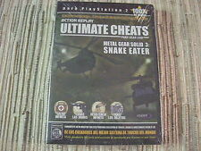 -PLAYSTATION 2 PS 2 ACTION REPLAY ULTIMATE CHEATS METAL GEAR SOLID 3 NUEVO