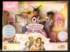 Baby Friends Happy Family Neighborhood Happy 1st Birthday Nikki Barbie Doll NRFB