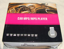 """STC-8006 Car MP3/MP5 Player with 3"""" TFT Screen and Remote Control, NEW"""