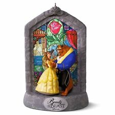 Hallmark 2016 Beauty and the Beast 25th Anniversary Disney Ornament