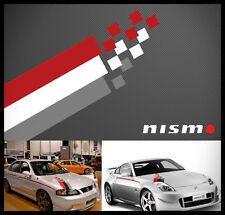 Nismo hood decal sticker hood kit #3 brand new UNIVERSAL KIT
