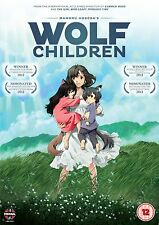 Wolf Children Movie New & Sealed ANIME Region 2 MN Mamoru Hosada