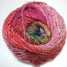 Noro Silk Garden Mohair Wool Pink Purple Green Yarn per Skein Color 415 Lot A