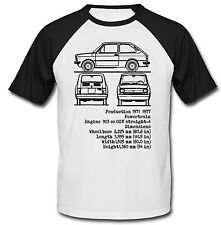 FIAT 133 INSPIRED - NEW COTTON TSHIRT - ALL SIZES IN STOCK