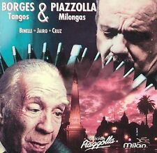 Borges &  Piazzolla: Tangos & Milongas by Daniel Binelli/Borges & Piazzolla (...