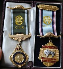 Two masonic medals