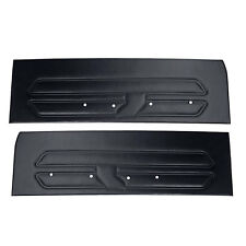 Mustang Door Panel Black Pair Standard Interior 1969 | CJ Pony Parts