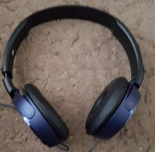 Sony MDR-ZX310 Stereo Monitor Over-Head Headphones foldaway - Blue