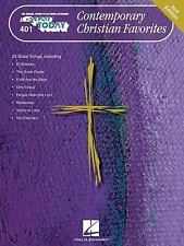 Contemporary Christian Favorites EZ to Play Piano Keyboard How to Play songbook