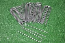 50 SOD STAPLES Landscape Anchor Pins for above ground DOG FENCE