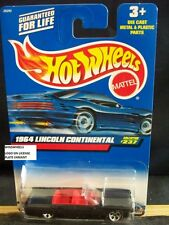 HOT WHEELS 2000 #237 -6 1964 LINCOLN CONTINENTAL HW TAMP LICENSE PLATE MALAY 00C