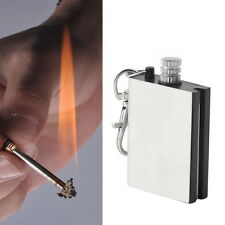 Emergency Fire Starter Flint Match Lighter Camping Instant Survival Tool NEW LC