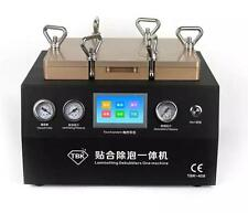 "5in1 12"" Touch Screen Vacuum OCA Laminating Debubble One Machine Compressor Pump"