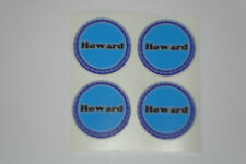 """12 Howard CROWN GREEN STICKERS  1""""   LAWN BOWLS FLATGREEN  AND INDOOR BOWLS"""