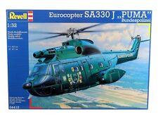 KIT REVELL 1:32 ELICOTTERO EUROCOPTER SA330 J PUMA  BUNDESPOLIZEI   ART 04412
