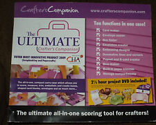 The Ultimate Crafters Companion Envelopes Card & Bow Maker Free Shippng