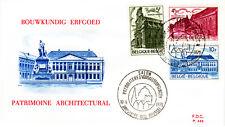Belgien 1821-23 FDC, Denkmalschutzjahr-CEPT