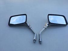 BRAND NEW CHROME E-MARKED RECTANGULAR Mirrors Suzuki VS600 INTRUDER