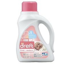 Dreft Stage 1: Newborn Liquid Laundry Detergent 50 oz (Pack of 4)