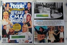 50 YEARS Of The CMA AWARDS Country Music PEOPLE Special Edition CASH 96 Pages