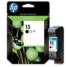 ORIGINAL & SEALED HP15 / C6615D BLACK INK CARTRIDGE - SWIFTLY POSTED!