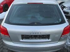 Heckklappe Audi A3 8P 3-Türer lichtsilber LA7W Klappe silber