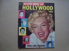 Marilyn Monroe RARE vintage 50s WHO´s WHO IN HOLLYWOOD cover magazine