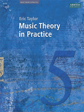 Music Theory In Practice Grade 5 ABRSM From 2008 Sheet Music Book Exam Taylor