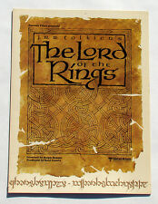 Lord of the Rings - Ralph Bakshi Animation - Promo Program 1978 - LOTR, Tolkien