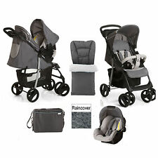 Hauck Shopper SLX Shop N Drive Travel System + ACCESSORI dalla Nascita - 152768