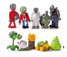 lot new Plants VS Zombies  PVC Auction Figure Model Toys 4-8 cm 10 pcs/set B