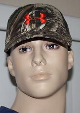 Under Armour Realtree MAX 5 Men's Camo/Blaze Orange UA Snap Back Hat Sz OS **
