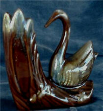 Pretty Ceramic Swan Vase, VERY GOOD CONDITION