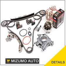 Fit Nissan Altima Maxima 350Z Infiniti VQ35DE Timing Chain Kit Water Oil Pump